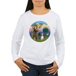 StFrancis-Basset#3 Women's Long Sleeve T-Shirt