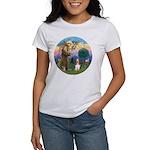StFrancis-Basset#3 Women's T-Shirt