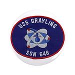 USS GRAYLING Button