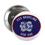 "USS GRAYLING 2.25"" Button"