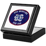 USS GRAYLING Keepsake Box