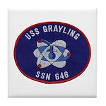 USS GRAYLING Tile Coaster