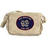 USS GRAYLING Messenger Bag