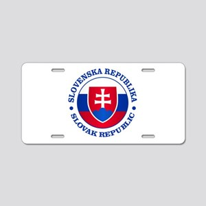 Slovakia (rd) Aluminum License Plate