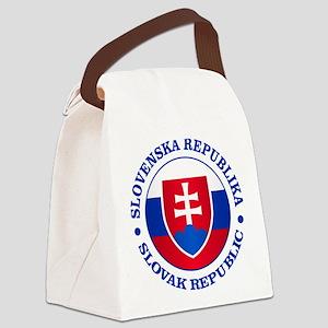 Slovakia (rd) Canvas Lunch Bag
