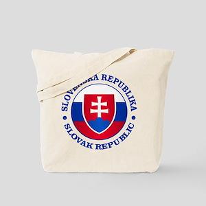 Slovakia (rd) Tote Bag