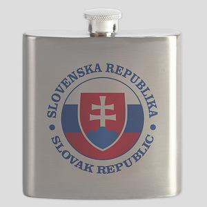 Slovakia (rd) Flask