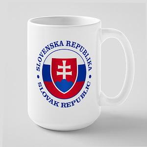 Slovakia (rd) Mugs