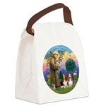 StFrancis-2Bassets Canvas Lunch Bag
