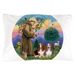 StFrancis-2Bassets Pillow Case