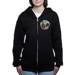 StFrancis-2Bassets Women's Zip Hoodie