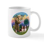 StFrancis-2Bassets Mug