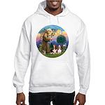 StFrancis-2Bassets Hooded Sweatshirt