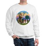 StFrancis-2Bassets Sweatshirt