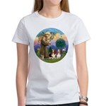 StFrancis-2Bassets Women's T-Shirt
