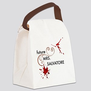 Future Mrs. S Canvas Lunch Bag