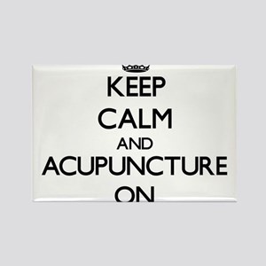 Keep Calm and Acupuncture ON Magnets