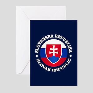 Slovakia (rd) Greeting Cards