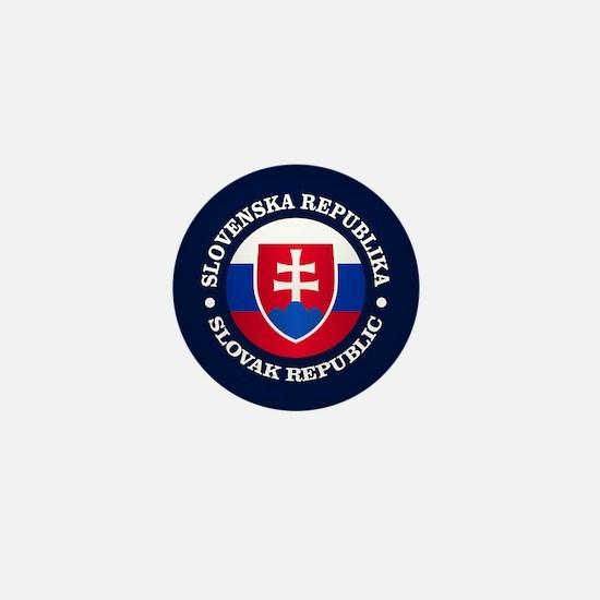 Slovakia (rd) Mini Button