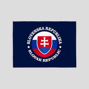 Slovakia (rd) 5'x7'Area Rug
