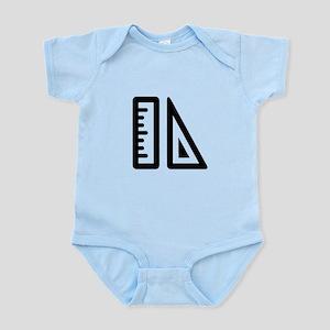 Puzzle Piece School and Education Infant Bodysuit