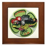 USS GREENFISH Framed Tile