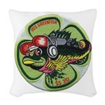 USS GREENFISH Woven Throw Pillow