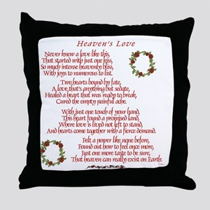 Heaven's Love Throw Pillow