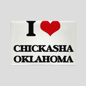 I love Chickasha Oklahoma Magnets
