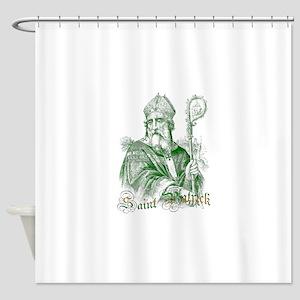 Saint Patrick Shower Curtain