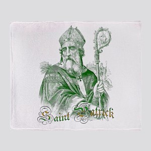 Saint Patrick Throw Blanket