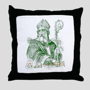 Saint Patrick Throw Pillow