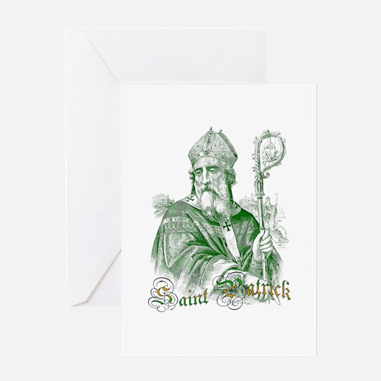 Saint Patrick Greeting Cards