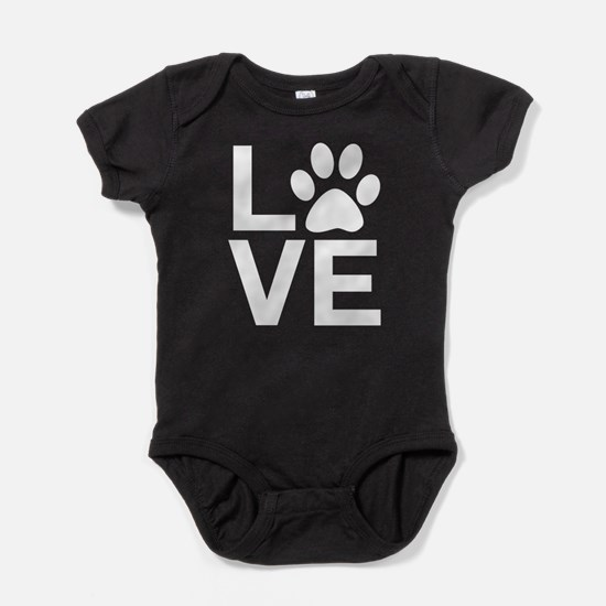 Love Dog / Cat Baby Bodysuit