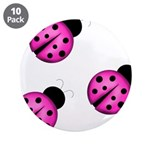 Pink Black Ladybugs 3.5