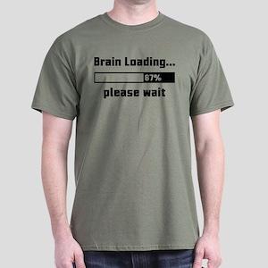 Brain Loading Dark T-Shirt