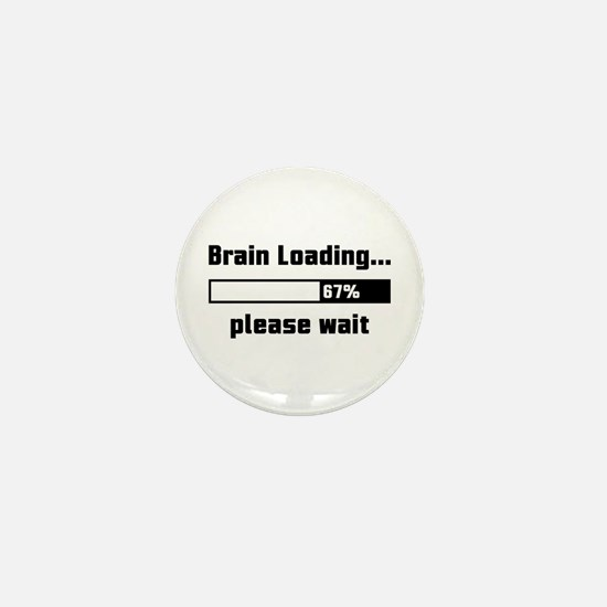Brain Loading Mini Button
