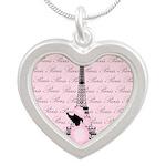 Vintage Pink Paris Necklaces