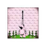 Vintage Pink Paris Sticker