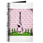 Vintage Pink Paris Journal