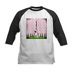 Vintage Pink Paris Baseball Jersey