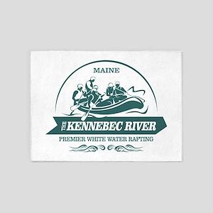Kennebec River 5'x7'Area Rug