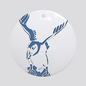 Puffin Landing Ornament (Round)