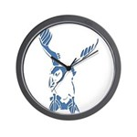 Puffin Landing Wall Clock