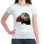 Puffin Portrait Jr. Ringer T-Shirt