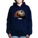 Puffin Portrait Women's Hooded Sweatshirt
