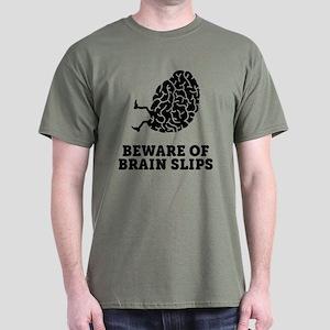 Brain Slips Dark T-Shirt