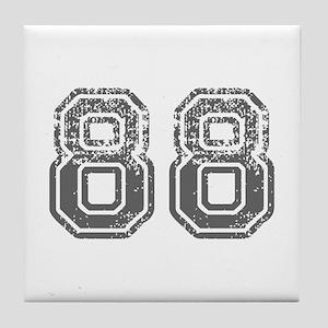 88-Col gray Tile Coaster