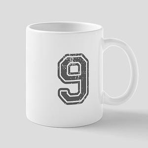 9-Col gray Mugs