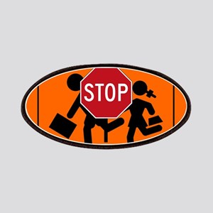 Crossing guard Patch